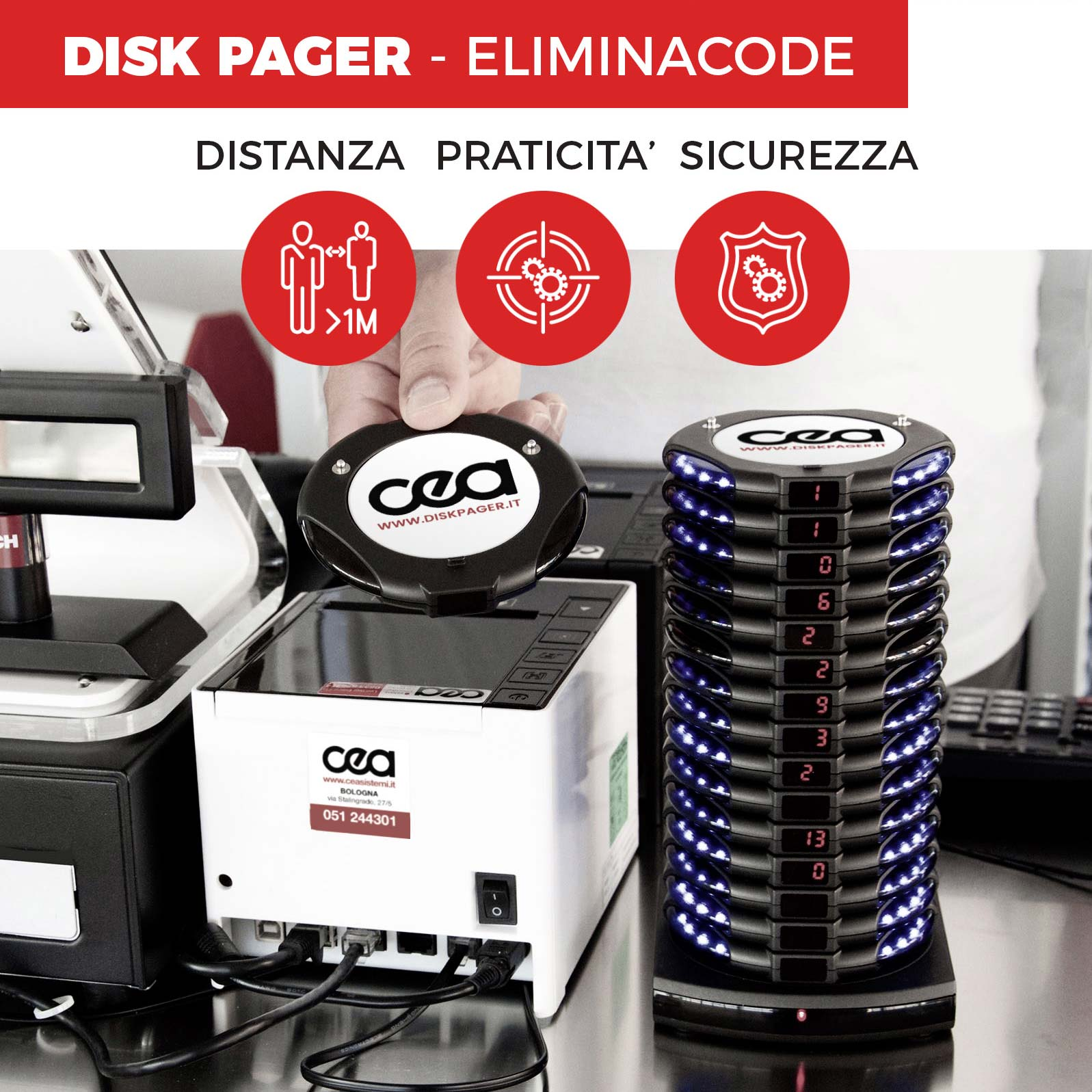 disk pager